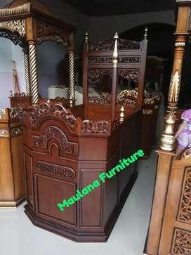 Podium mimbar dakwah masjid