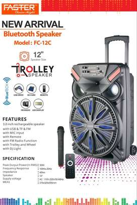 Faster Fs-12C Fortune Series Portable Subwoofer 12 Inch Trolley