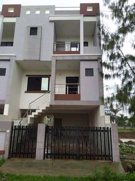 4 bhk tenement to give on rent. Located at zanzarda road. Road touch.