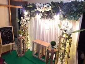 Backdrop dan photobooth