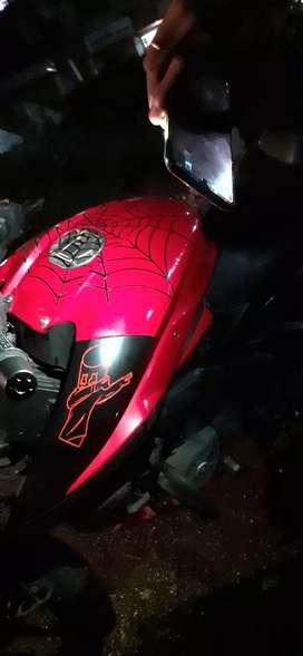 Pulsar ns 160 red black