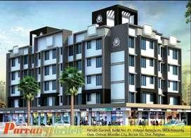 2 bhk Lavish Semifurnshed flat for sale in Parvati Garden, Boisar E
