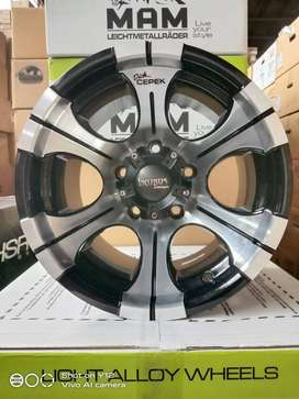 Velg Mobil Jimny Taft Feroza Vitara Ring 15 Lebar 10 inch