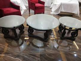 Center and side table 3 set only deal on call