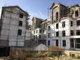 3bhk duplex villament with huge private terrace