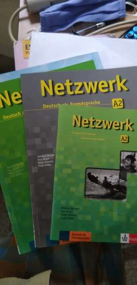 NETZWERK GERMAN A2 book for sale with CDS