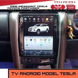 Had Unit All New Fortuner Tesla Mirai 12Inch M-T680 | KIKIM Variasi