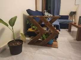 Sofa side shelf table . . .
