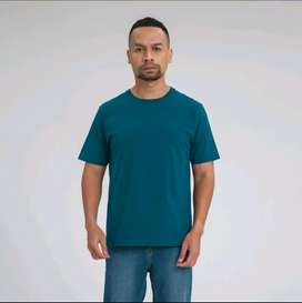 ALOWALO - Basic Tshirt Premium Crew Neck Men - Legion Blue, dan Size L