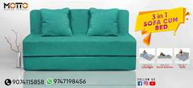 Sofa cum bed ( single, double, queen, king size)