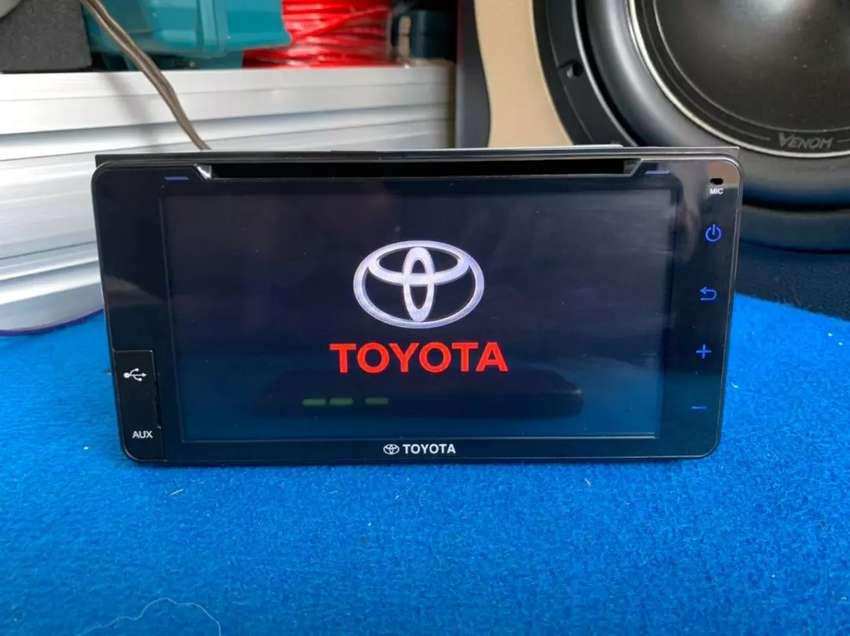 Headunit Toyota Yaris facelift 2019-2020