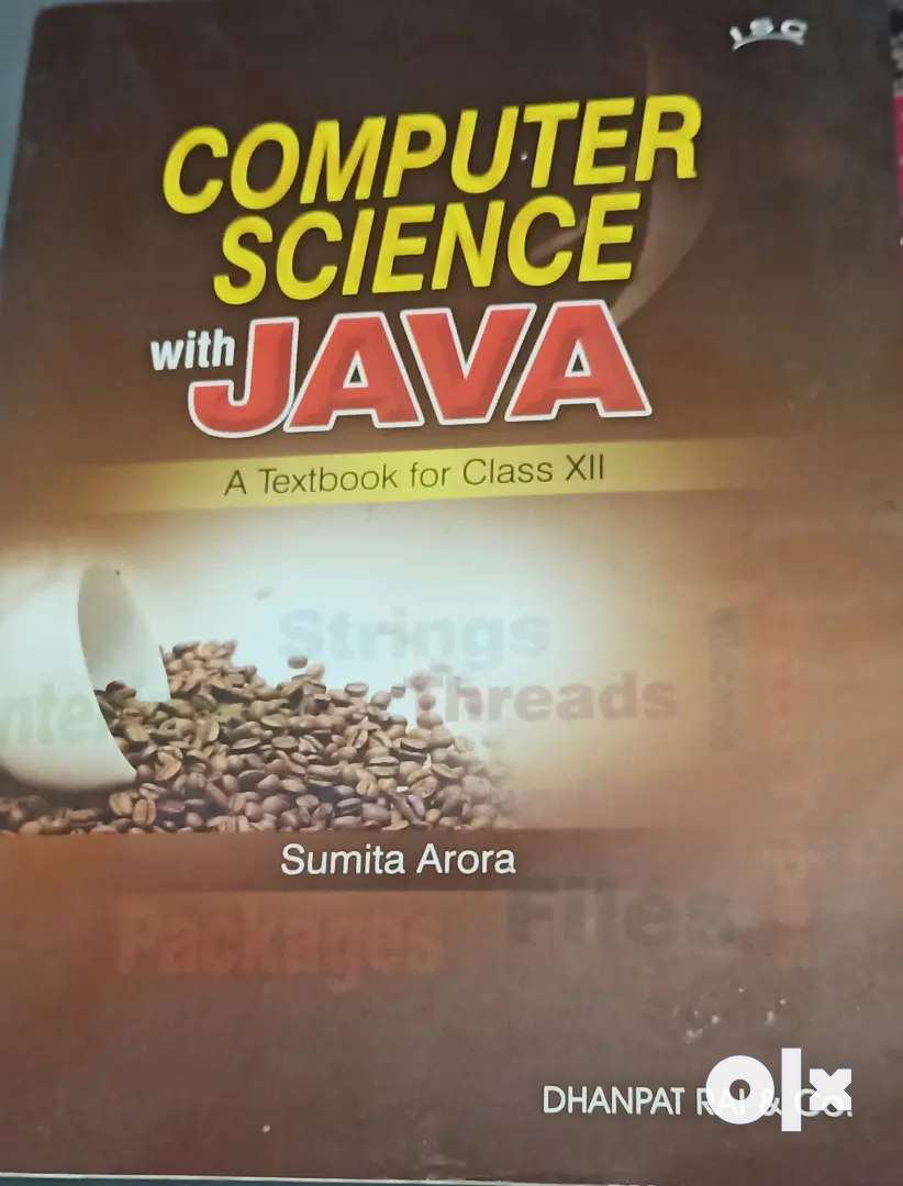 Sumita Arora Computer Science book 0