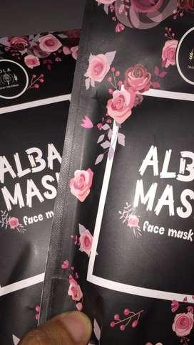 alba mask untuk semua jenis kulit