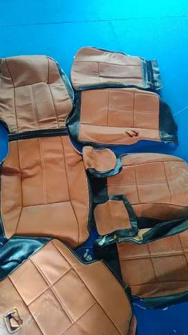 Less used  Innova crysta seat cover full set