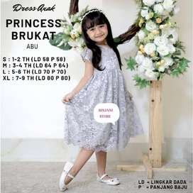 Dress Brukat Anak 1-2 tahun