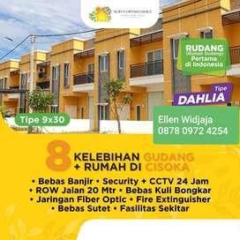 Gudang Surya Grand Cisoka  Balaraja Tangerang Siap usaha gudang rumah