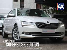 Skoda Superb Laurin and Klement 1.8, 2016, Petrol