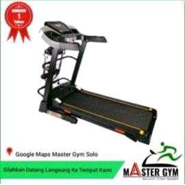READY STOCK Motorized treadmill seriesI5 MG Sports Solo Bergaransi