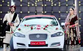 Luxury car available on rent wedding and party