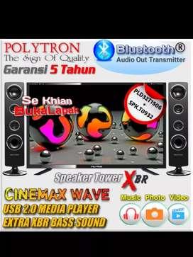 Polytron Led Pld-32t156 (+bluetooth) /JUALAN LED TV BARU DN GARANSI