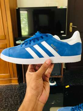 Adidas Originals Gazelle sneakers blue UK 9/US 9.5