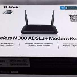 D-LINK DSL-2750U WIRELESS N 300 ADSL2 + ROUTER