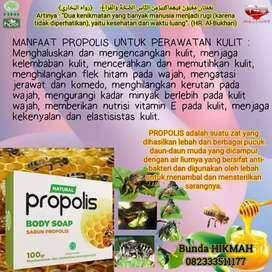 Ready sabun propolis tranfaran 100gr