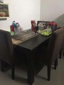 Jual meja makan, bangu, meja konsul