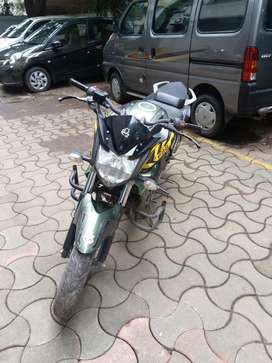 Yamaha fzs military colour