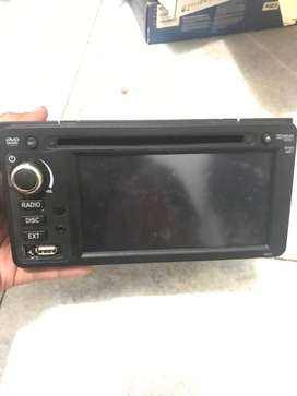 Head Unit Fujitsu Ten & Speaker Original Toyota Kijang Innova