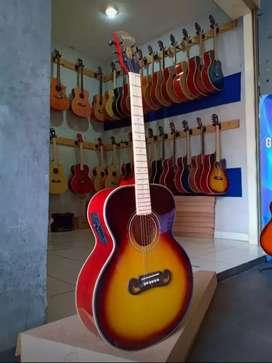 Gitar Akustik  Elektronik  sederhana Akustik
