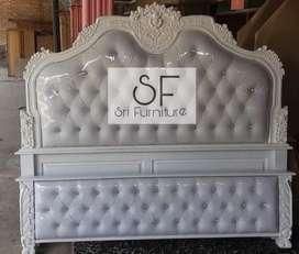 Sri furniture tempat tidur jok busa