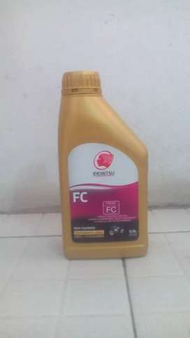 Oli  2 tak atau oli samping idemitsu Jaso FC .