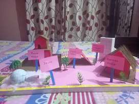 model on types of houses price 700