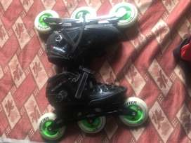 Sparely used Inline skates for sale for 12 year old