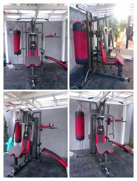 Ready big home gym 3 sisi with sandsack