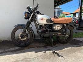 Kawasaki w175 tahun 2018 low km jrg pakek