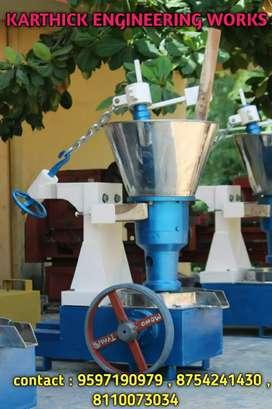 New rotary oil machine .