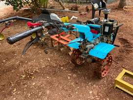 9HP power tiller along with other accessories for 1 lakh