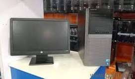 Dell tower core I3 2nd gen 4gb ram 500 gb hdd 17 inch led full set