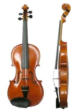 Violin , brown color