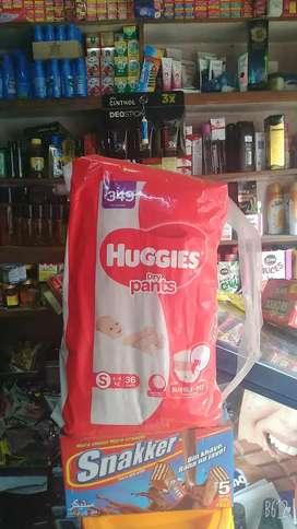 Huggies size S 36 pants
