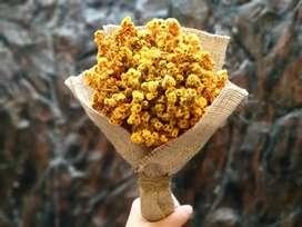 Buket bunga edelweis murah
