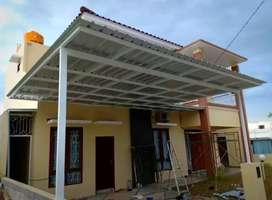 Kanopi atap spandek (2664)