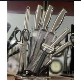 8 Piece Knife Set Imported Branded