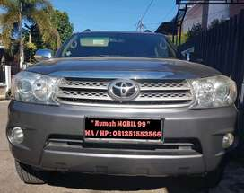 Toyota New Fortuner 2.7 G Lux A/T th 2009, X-pemakai Perempuan,Terawat