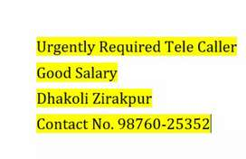Urgently Required telecaller
