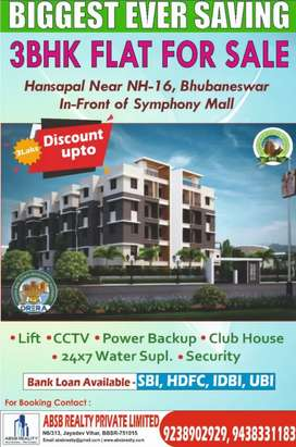 Luxurious 3Bhk Apartment sale in Hanspal NH16 Infront of Symphony mall