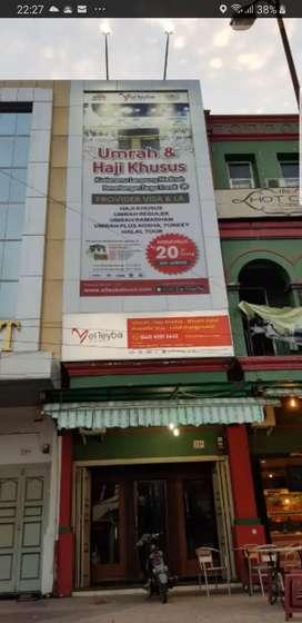Besi billboard iklan ( promosi ) baliho & neon box