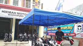 Tenda Lipat Bazar, Tenda Kaki Lima, Tenda Usaha, Tenda Portabel